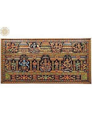 Panel Of Vishnu-Roopas