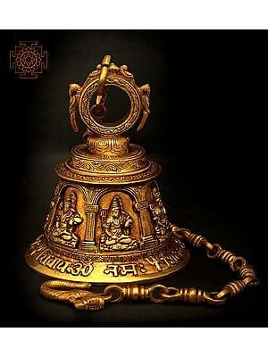 Lord Shiva Temple Bell (Big)