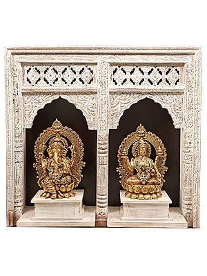Seated Ganesha-Lakshmi Temple