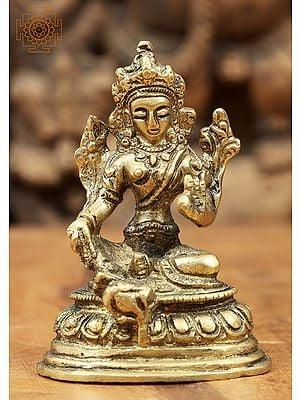 Tibetan Bodhisattva Green Tara