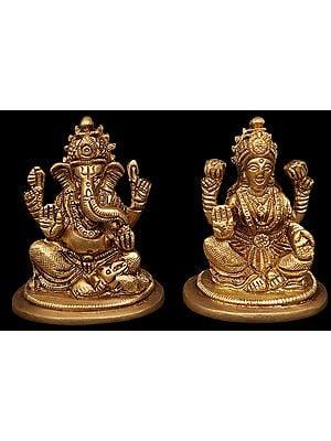 Auspicious Lakshmi Ganesha Pair