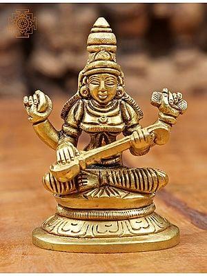 Goddesss Saraswati (Small)