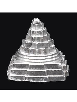 Tiny Shri Yantra Made of Mercury