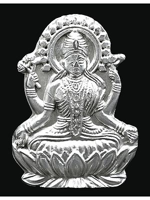 Vaibhava Lakshmi made of Mercury