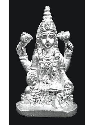 Wealth Goddess Lakshmi Made of Mercury