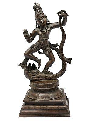 Lord Kalinga Krishna Dancing on Kaliya Serpant