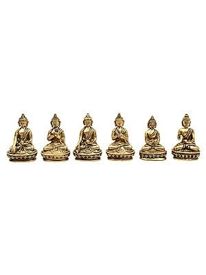 Various Postures of Lord Buddha