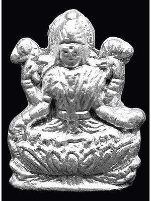 Tiny Goddess Lakshmi Made of Mercury