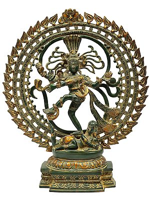 Lord Nataraja in Anandatandava