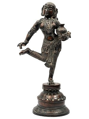 Dancing Lady with Pot