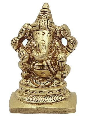 Small Good Luck Ganesha (Easy to Carry Around)