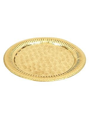 Designer Brass Plate