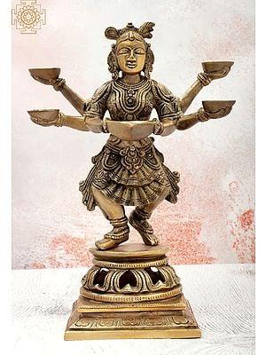 Six Armed Deepalakshmi