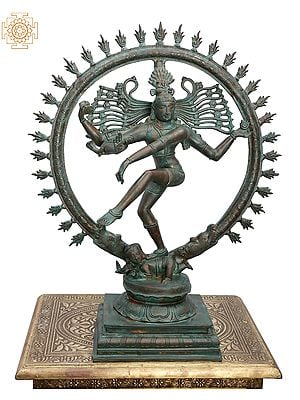 Lord Shiva as Nataraja in Cosmic Dance Mudra