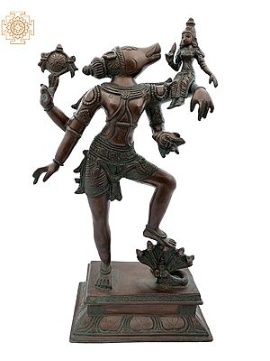 Varaha Avatara of Vishnu with Bhudevi