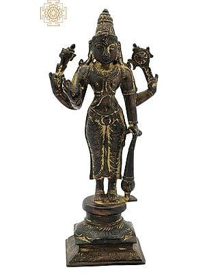 Small Standing Bhagawan Vishnu