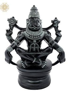 Lord Narasimha in Yoga Mudra