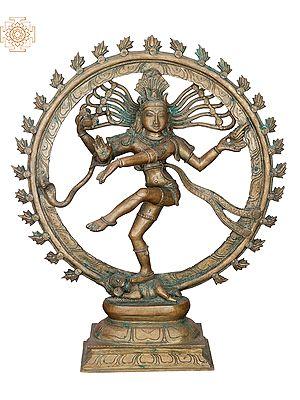 "19"" Nataraja | Handmade | Madhuchista Vidhana (Lost-Wax) | Panchaloha Bronze from Swamimalai"