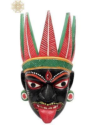 Goddess Kali Wall-Hanging Mask