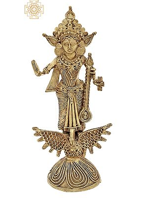 Standing Devi Saraswati