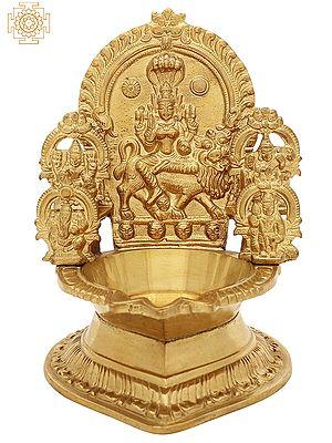 Lamp Of Goddess Pratyangira