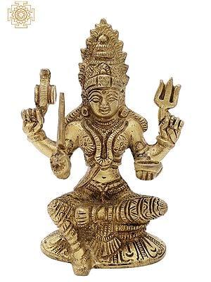 Small Goddess Mariamman (Durga of South India)