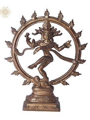 "6"" Nataraja | Handmade | Madhuchista Vidhana (Lost-Wax) | Panchaloha Bronze from Swamimalai"