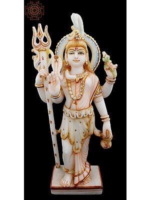 "15"" Ardhanarishvara | Shiva Ardhanarishvara | Ardhanarishvara Marble Statues | Marble Statues"