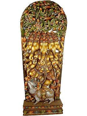 Five Faced Heramba Ganesha