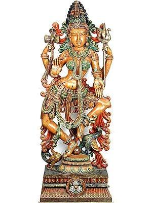 Dancing Shakti - The Primordial Power