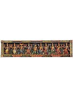 Dashavatara Panel (Ten Incarnations of Shri Vishnu)