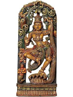 Krishna's Tandava (Shrimad Bhagavatam 10.16.30)