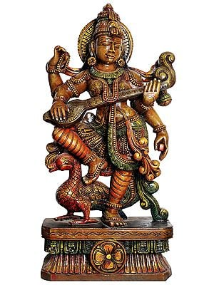 Large Size Goddess Saraswati