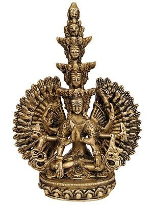 (Tibetan Buddhist Deity) Thousand-Armed Avalokiteshvara
