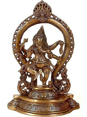 Six-Armed Dancing Ganesha