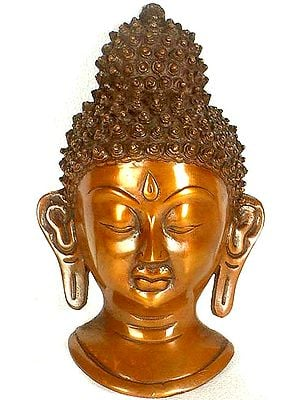 On The Edge Of Enlightenment, Buddha Wall-Hanging Mask