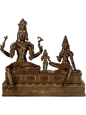 Somaskanda - A Popular Motif of Pallava Art
