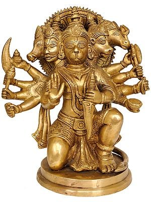 Five-Headed Lord Hanuman