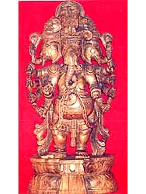 Five-Headed Ganesha