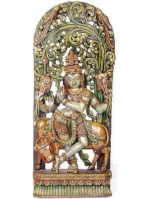Fluting Gopala Krishna