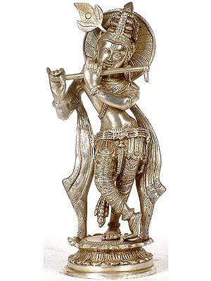 Fluting Krishna