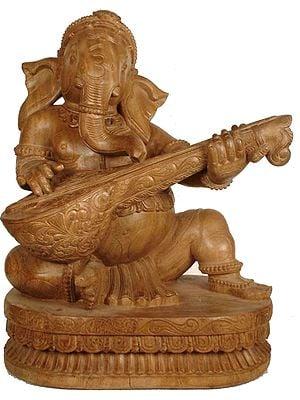 Ganesha Playing the Veena