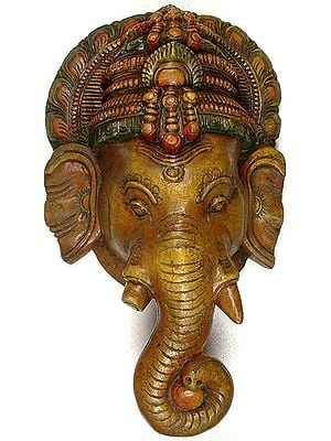 Ganesha Wall Mask