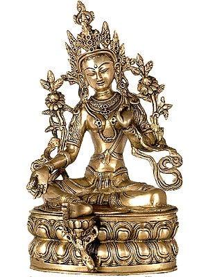 (Tibetan Buddhist Deity) Goddess Green Tara