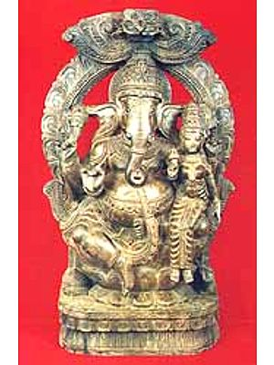 Lord Ganesha with Consort