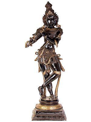 Why is Krishna Black? (Large Size)