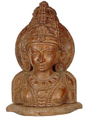 Large Size  Lord Vishnu Bust