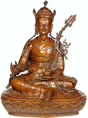 (Tibetan Buddhist Deity) Large Size Padmasambhava - The Second Buddha