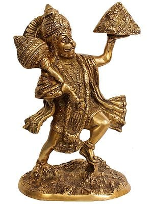 Shri Hanumanji Carrying Sanjeevani Mountain