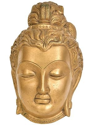Gandhara Buddha Head (Wall Hanging)